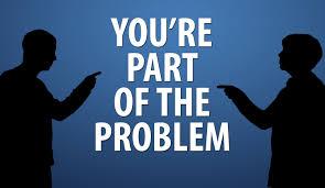 You're Part of the Problem - SDI | TDI | ERDI | PFI